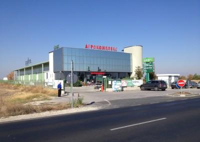 Логистична сграда за торове и препарати АГРОКОМПЛЕКС