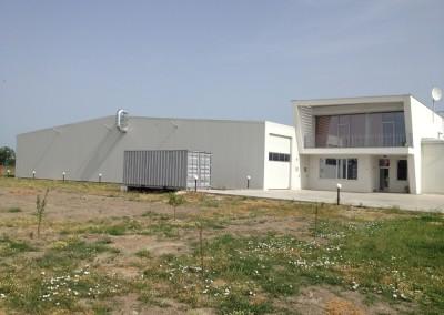 Административна и логистична сграда