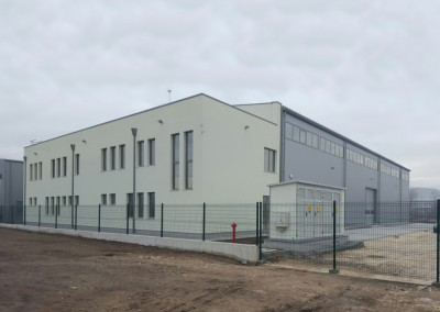 Цех за индустриална подготовка и студена обработка на метали с административна сграда