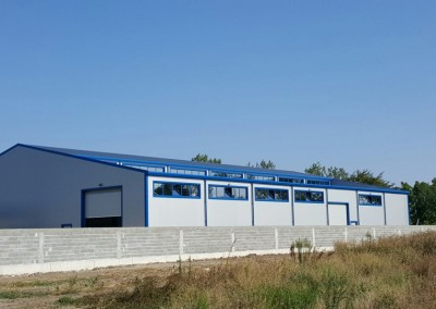 Производствено-административна сграда за метални изделия