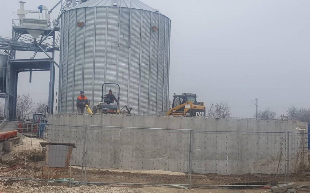 База за съхранение на зърно