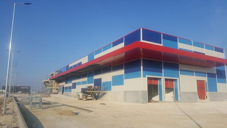 Търговски комплекс за промишлени стоки с админ. част