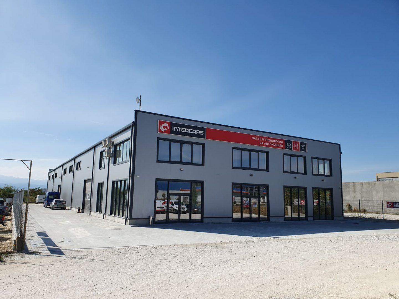 Търговско-складова база за авточасти