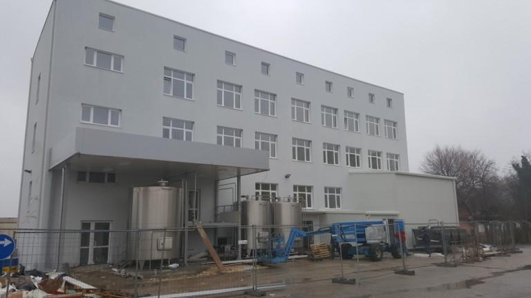 Преустройство и модернизация на съществуващо млекопреработвателно предприятие