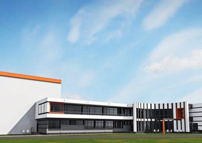 Разширение на производствено-складова сграда към предприятие за обработка на пера