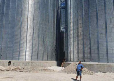 Силозно складово стопанство за съхранение на етерични маслени култури