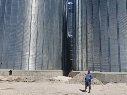 Silo storage for essential oil cultures