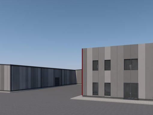 Warehouse for construction materials